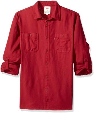 Levi's Men's Chalk Cotton Button Down Shirt