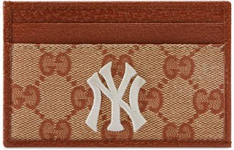 2edbe30033ac Gucci Original GG card case with NY YankeesTM patch