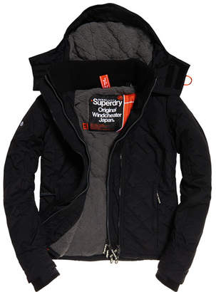 Superdry Hooded Sherpa Quilted SD-Windcheater Jacket