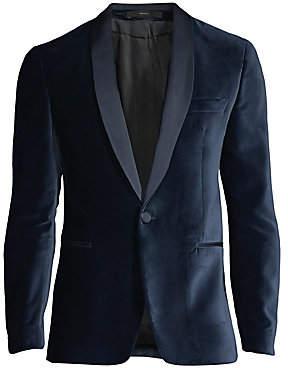 Paul Smith Men's Velvet Soho Jacket