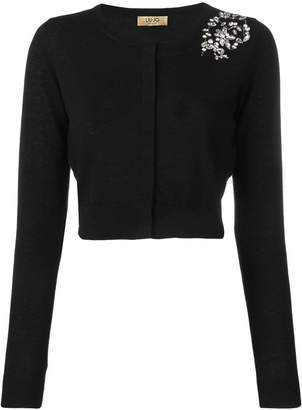 Liu Jo embellished knit sweater