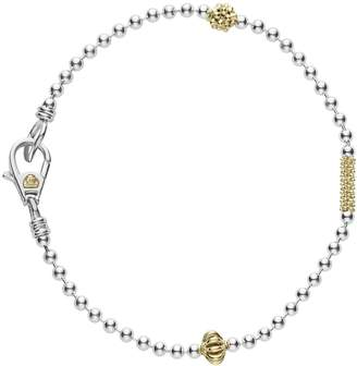 Lagos Caviar Icon Single Strand Bracelet
