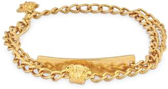 Versace V-insignia Double Anklet