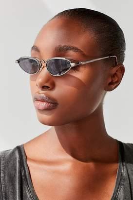 Vintage Sunglasses Vintage Misty Slim Oval Sunglasses