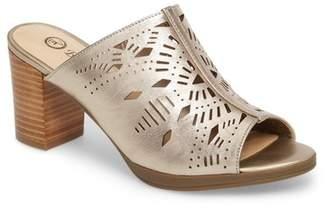 Bella Vita Lark Laser Perforated Slide Sandal (Women)