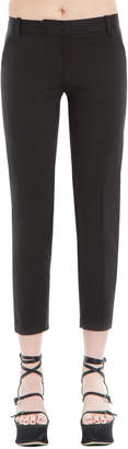 Max Studio slim cropped trousers