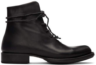 Cherevichkiotvichki Black Pointy One Piece Boots