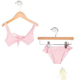 Melissa Odabash Girls' Two-Piece Swim Set w/ Tags