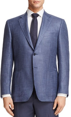 Canali Houndstooth Check Classic Fit Sport Coat $1,495 thestylecure.com