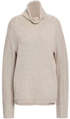 Theory Norman Melange Cashmere Turtleneck Sweater