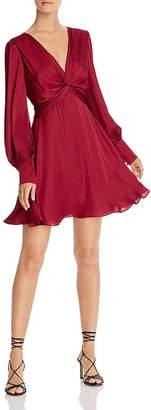 Bardot Claire Twist-Front Dress