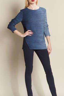 Clara Sunwoo Blue Ombre Sweater