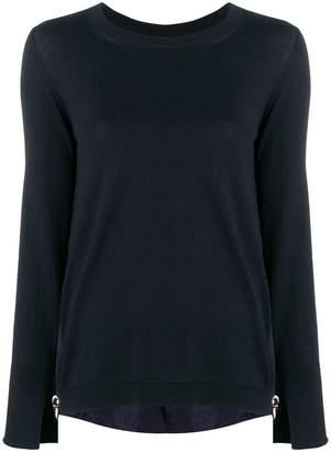 Moncler sleeve logo sweatshirt