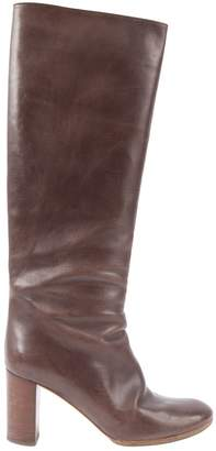 Chloé Leather riding boots