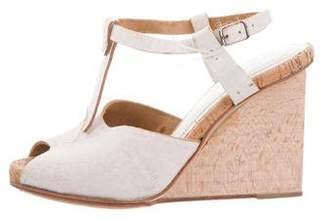 Maison Margiela Distressed Wedge Sandals