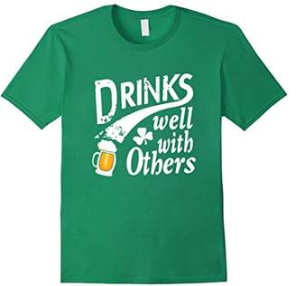 Drinks Well With Others Four Leaf Clover