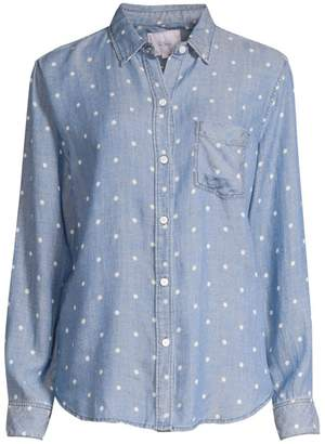 Rails Ingrid Polka Dot Long-Sleeve Shirt