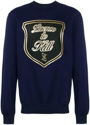 Billionaire Licence to Kill sweatshirt