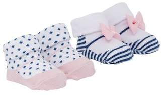 Jessica Simpson 2-Pack Booties Box Set (Baby Girls)