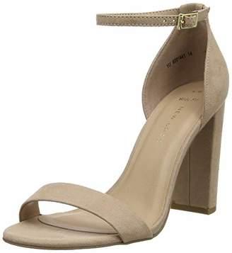 8b4bcf75b8 New Look Women's Wide Foot Tarona Open Toe Heels 8 (41 ...