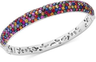 Effy Splash by Multicolor Sapphire Bangle Bracelet (10-1/2 ct. t.w.) in Sterling Silver