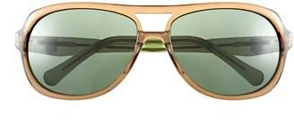 Vince Camuto Translucent-Frame Aviator Sunglasses
