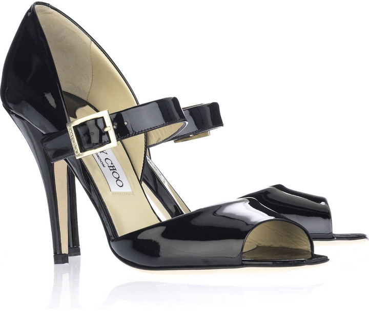 Jimmy Choo Lumiere patent shoes