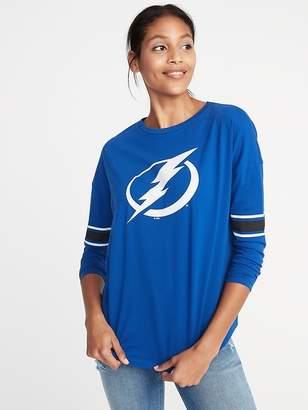 Old Navy NHL® Team Sleeve-Stripe Tee for Women