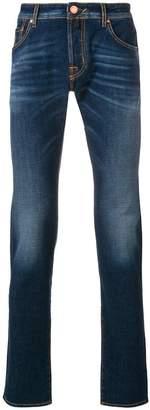 Jacob Cohen stonewashed slim fit jeans