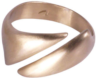 Crusoe Jewelry Adrift Diagonal Open Ring