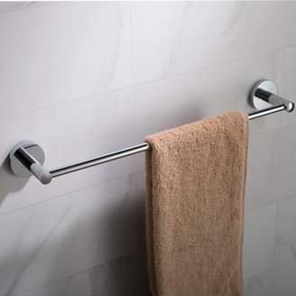 Elie Kraus KRAUS 18-inch Bathroom Towel Bar, Chrome Finish