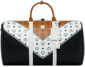 MCM Men's Traveler Weekender 50 Duffel Bag