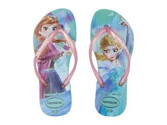 Havaianas Slim Frozen Flip Flops (Toddler/Little Kid/Big Kid)