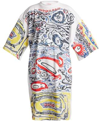 DAY Birger et Mikkelsen CHARLES JEFFREY LOVERBOY Graphic-print cotton-jersey dress