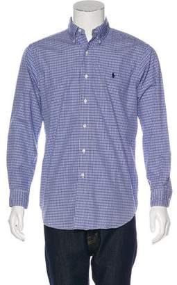 Ralph Lauren Plaid Woven Shirt