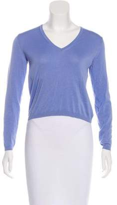 Malo Lightweight V-Neck Sweater