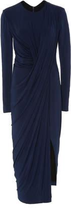Jason Wu Collection Long-Sleeve Draped Jersey Dress