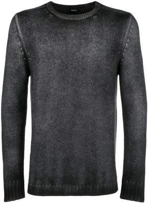 Avant Toi overdyed crew neck sweater
