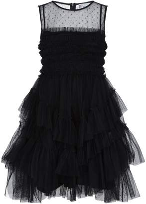 RED Valentino Tiered Tulle Mini Dress
