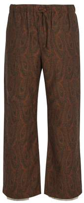 Needles - Paisley Trousers - Mens - Brown