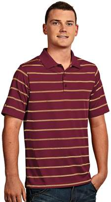 Antigua Men's Striped Performance Golf Polo
