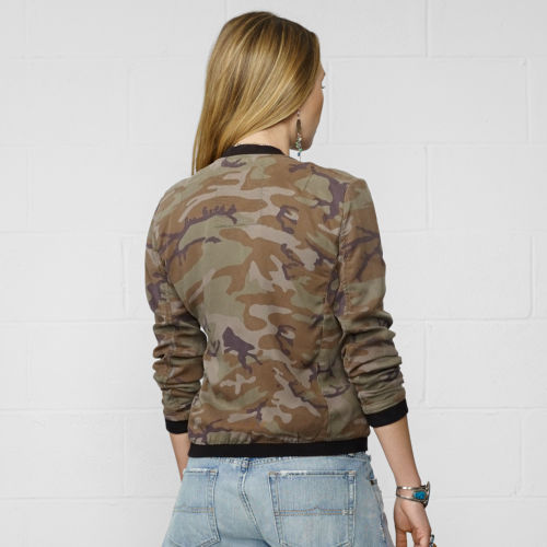 Denim & Supply Ralph Lauren Camo Bomber Jacket