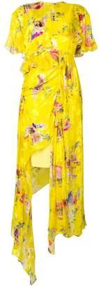 Preen by Thornton Bregazzi Nickesha floral asymmetric dress