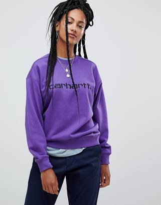 Carhartt WIP Relaxed Sweatshirt With Logo