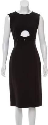 Calvin Klein Wool Blend Cutout Dress w/ Tags