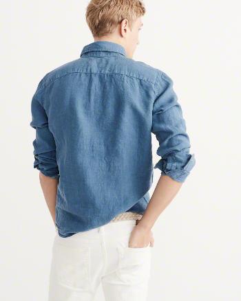Garment Dye Linen Shirt 5
