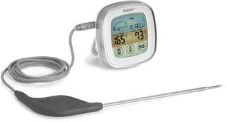 Polder Touch Screen Preset Thermometer White w/ Ultra Probe