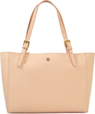Tory Burch Small York Buckle tote $265 thestylecure.com