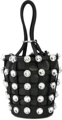 Alexander Wang Caged Roxy mini bucket bag