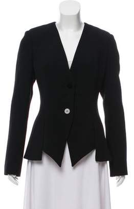 Cushnie et Ochs Wool Structured Blazer
